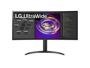 """LG 34WP85C-B 34"""" 21:9 UltraWide QHD IPS Curved Monitor with Built-In Speakers"""