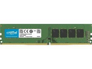 Crucial 16GB 2666 MT/S 288-Pin DDR4 SDRAM UDIMM (PC4-21300) Memory Module, CL19, Unbuffered, Dual Ranked x8, Non-ECC, 1.2V