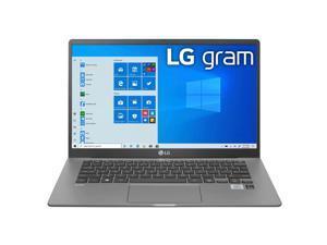 "LG Gram 14"" Full HD IPS Notebook Computer, Intel Core i7-1065G7 1.30GHz, 16GB RAM, 512GB SSD, Window 10 Home, Dark Silver"