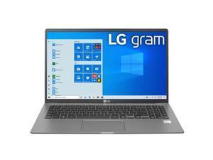 "LG Gram 15.6"" Full HD IPS Notebook Computer, Intel Core i5-1035G7 1.20GHz, 8GB RAM, 256GB SSD, Window 10 Home, Dark Silver"