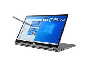"LG Gram 14"" 2-in-1 Full HD Touch Screen Notebook Computer, Intel Core i7-10510U 1.8 GHz, 16GB RAM, 1TB SSD, Windows 10 Home, Dark Silver"