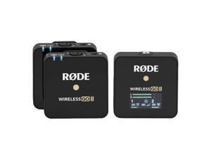 Rode Microphones Wireless GO II Compact Microphone System with 2x Transmitters and 1x Receiver