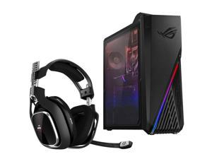 Asus ROG Strix GA15DH Gaming Desktop, Ryzen 73700X, 16GB, 512GB SSD, GTX 1660, Windows 10 Home - Bundle with Headset