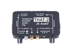 JK Audio THAT-2 Telephone Handset Audio Tap #THAT2