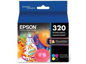 Epson 320 Standard-Capacity Color Ink Cartridge for PictureMate PM-400 Printer