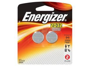 Energizer Lithium Coin Cell 2032 3V Battery, 2 Per Pack