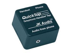 Jk Audio QuickTap Telephone Handset Audio Interface #QT