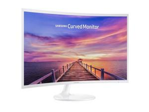 """SAMSUNG 391 Series C27F391 Glossy White 27"""" 4ms HDMI Widescreen LED Backlight LCD Monitor"""