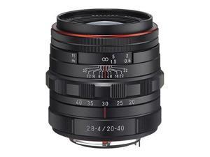 Pentax HD DA 20-40mm F2.8-4 ED Limited DC WR Zoom Lens - Black #23000