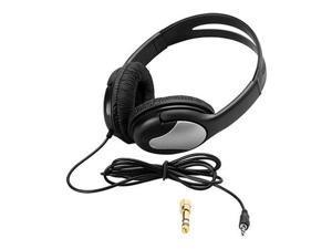 "Hosa Technology HDS-100 Stereo Headphones, 1/8"" Mini-Plug, Padded Earcups"