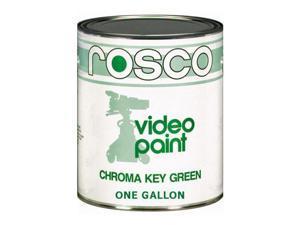 Rosco Chroma Key Matte Green Paint - Gallon #057110128