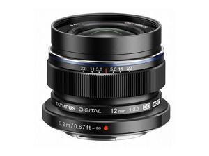OLYMPUS V311020BU001 M. Zuiko 12mm f2.0 Lens Black