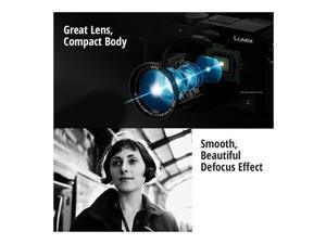 Panasonic LUMIX LX100 Integrated Leica DC Lens Camera (Black)
