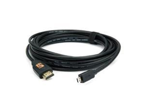 Tether Tools TetherPro 10' / 3.04m HDMI Micro D to HDMI A Cable #TPHDDA10