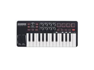Samson Graphite M25 25-Key USB MIDI Controller Keyboard for Mac/PC/iOS #SAKGRM25