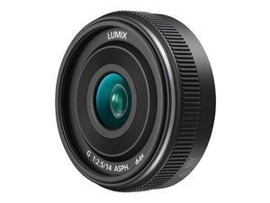 Panasonic H-H014A Lumix G 14mm, f/2.5 II Aspherical Lens for Micro Four Thirds