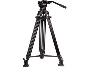 iKan E-Image GA752T 2-Stage Aluminum Tripod with GH03 Head & Mid-Level Spreader