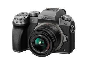 Panasonic LUMIX G7 Mirrorless Camera with 14-42mm f/3.5-5.6 Lens (Silver)