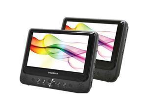 """Sylvania SDVD9805 9"""" Dual-Screen Portable DVD Player"""