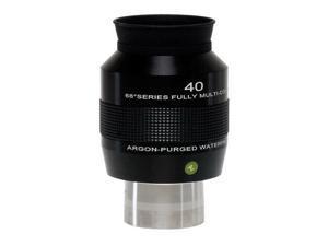 "Explore Scientific 68 Deg. 40mm Argon-Purged Waterproof Eyepiece, 2"" Barrel"