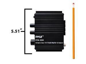 Pyle Pfa200 60-Watt Class-T Hi-Fi Audio Amplifier With Ac Adapter