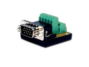 Comprehensive HD15 Pin Male to Terminal Block #HD15P-TB