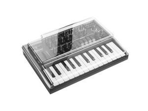 Decksaver Arturia Light Edition MicroBrute Cover, Smoked/Clear #DSLEPCMICROBRUTE