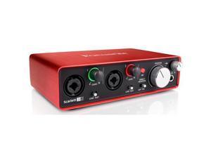 Focusrite Scarlett 2i2 2nd Gen 2 Input/2 Output USB 2.0 Audio Interface