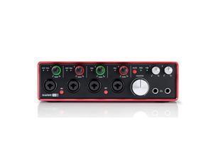 Focusrite Scarlett 18i8 2nd Gen 18 Input/8 Output USB 2.0 Audio Interface