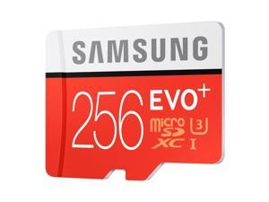 Samsung EVO+ 256GB Class 10 U3 microSDXC Memory Card with Adapter #MB-MC256DA/AM