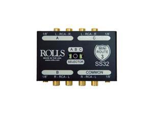 Rolls Rolls SS32 3 Way Stereo Switch