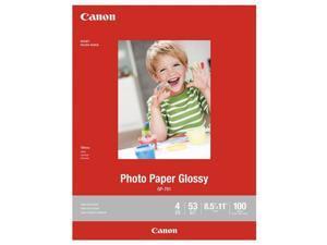 "Canon Glossy Photo Paper GP-701 Inkjet Print 8 1/2"" x 11"" - Glossy - 100 Sheet"