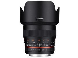 Samyang 50mm F1.4, Manual Focus Lens for Sony E Mount #SY50M-E