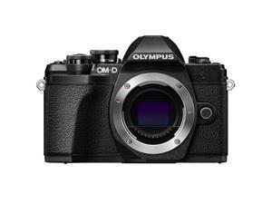 Olympus OM-D E-M10 Mark III Mirrorless  Micro Four Thirds Digital Camera (Body Only) - Black V207070BU000