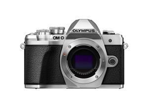 Olympus OM-D E-M10 Mark III Mirrorless  Micro Four Thirds Digital Camera (Body Only) - Silver V207070SU000