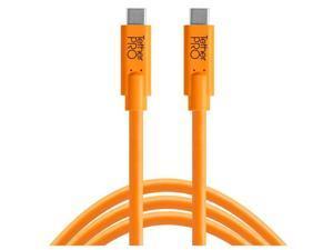 Tether Tools TetherPro USB-C to USB-C Cable, 10', Orange #CUC10-ORG