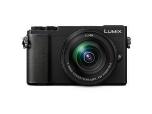 Panasonic Lumix DC-GX9 20.3MP Mirrorless Digital Camera with 12-60mm Lens, Black