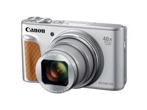 Canon PowerShot SX740 HS Digital Camera, Silver #2956C001