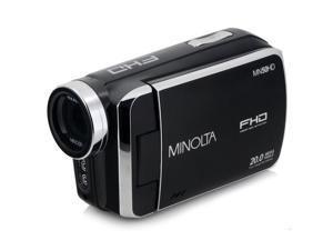 Minolta MN50HD 1080p Full HD 20MP Digital Camcorder, Black #MN50HD-BK
