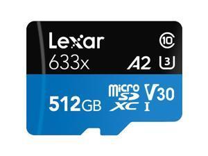 Lexar High-Performance 633x 512GB microSDXC Flash Card Model LSDMI512BBNL633A