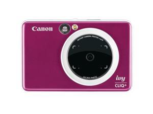 Canon CLIQPRRED IVY CLIQ+ Instant Camera - Ruby Red