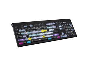 LogicKeyboard keyboard Designed for Avid Media Composer compatible with Windows 7-10 Part Number LK-LKB-MCOM4-BJPU
