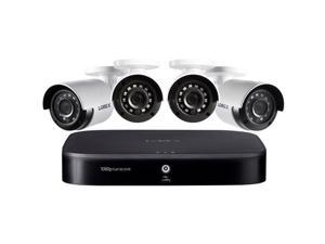 Lorex 1080p HD 8-Channel Security System with 1TB HDD DVR & 4x 1080p HD Cameras
