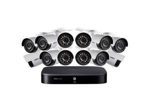 Lorex 1080p HD 16-Ch Security System, D441 1TB HDD DVR, 12x LBV2531U Cameras