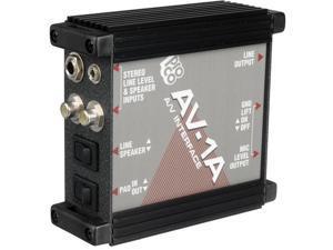 Pro Co Sound AV1A Audio-Visual Passive Interface Box