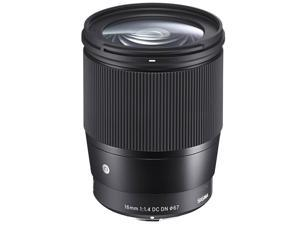 Sigma 16mm F/1.4 DC DN Contemporary Lens for Canon EF-M (402971)