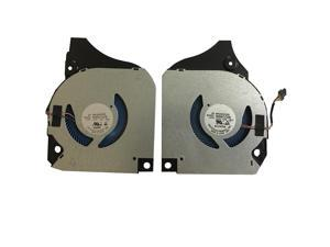 New CPU+GPU Cooling Fan Replacement For Dell G7 17 7790 P/N: NS8CC08-18G29 NS8CC09-18G30 0F7N58 0X4F3M