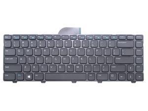 ndliulei Compatible Laptop Keyboard Replacement for Dell Latitude 3440 Vostro 2421 PN:6H10H 06H10H 0NG6N9 NG6N9 9Z.N8VSW.01D NSK-L90SW US Layout Black Color