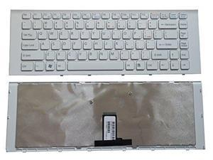 Laptop Keyboard Compatible for Sony VAIO SVP1321A1CT SVP132A1CW SVP132A1CV SVP132A1CM US Black No Frame
