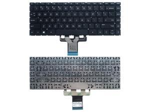 New US Black English Laptop Keyboard (without palmrest) for HP 14-DQ 14-DQ0005CL 14-DQ0007CA 14-DQ0011DX 14-DQ0635CL 14T-DQ100 14-DQ1010CA 14-DQ1020CA 14-DQ1025CL